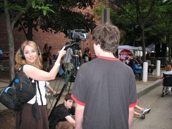 Ellen McAvoy Videographer Extroadinaire